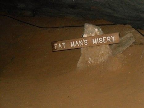 Khu vực Fat Man's Misery. (Ảnh của MCNP)