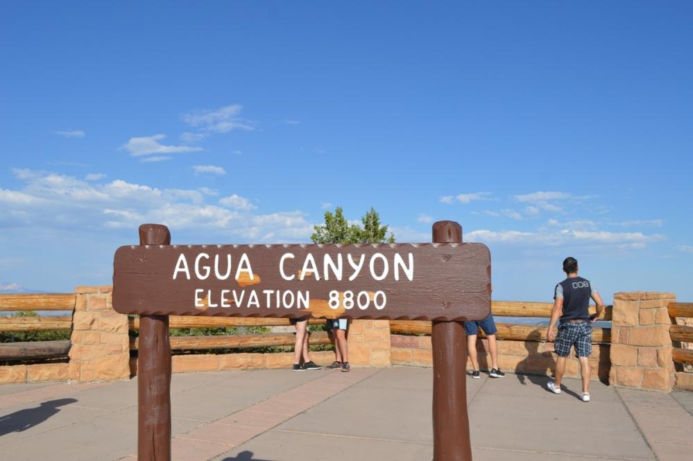 Khu vực Agua Canyon.