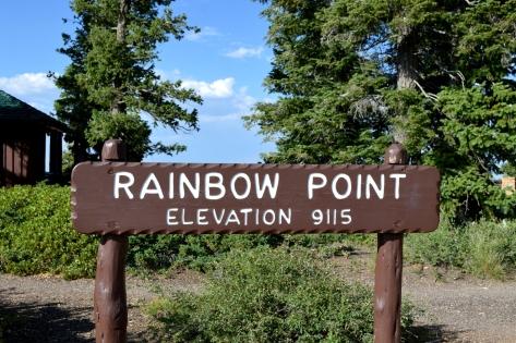 Khu vực Rainbow Point.