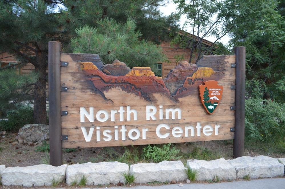 Khu vực Trung Tâm Phục Vụ Du Khách North Rim.