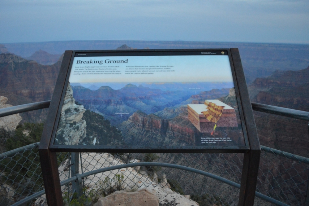 Thông tin về North Rim Canyon.