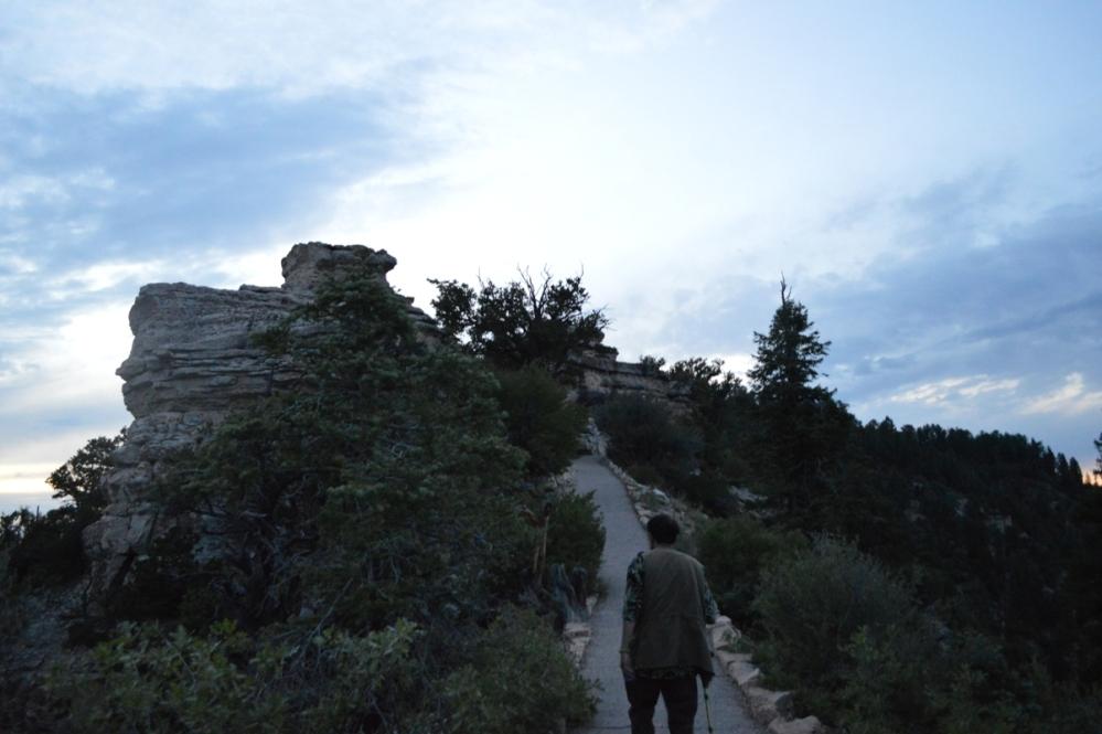 Đành phải trở vô thôi. Chào tạm biệt Grand Canyon National Park-North Rim.