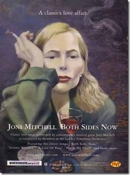 Chân dung tự họa của Joni Mitchell.