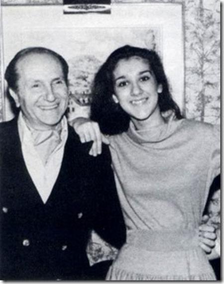 Eddy Marnay và Céline Dion.
