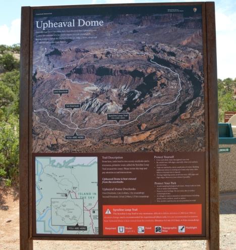 Thông tin về Canyonlands cho du khách.