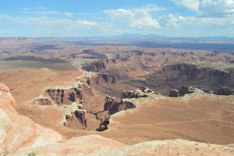 White Rims Canyons cận cảnh.