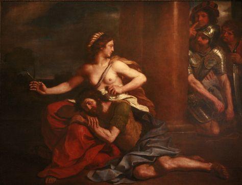 Delilah (thế kỷ 16) của Rubens.