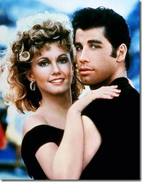 Olivia Newton-John nổi tiếng đầu thập niên 1980 với cuốn phim ca nhạc Grease.