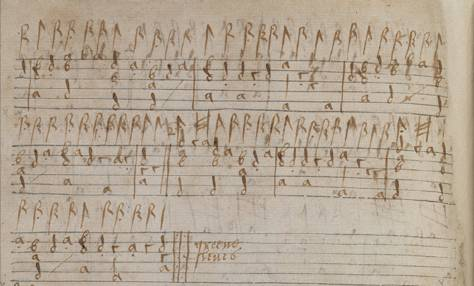 One of the first sources for the tune, in lute tablature as greene sleues in MS. 408-2, an anonymous amateur anthology dated c. 1592–1603.