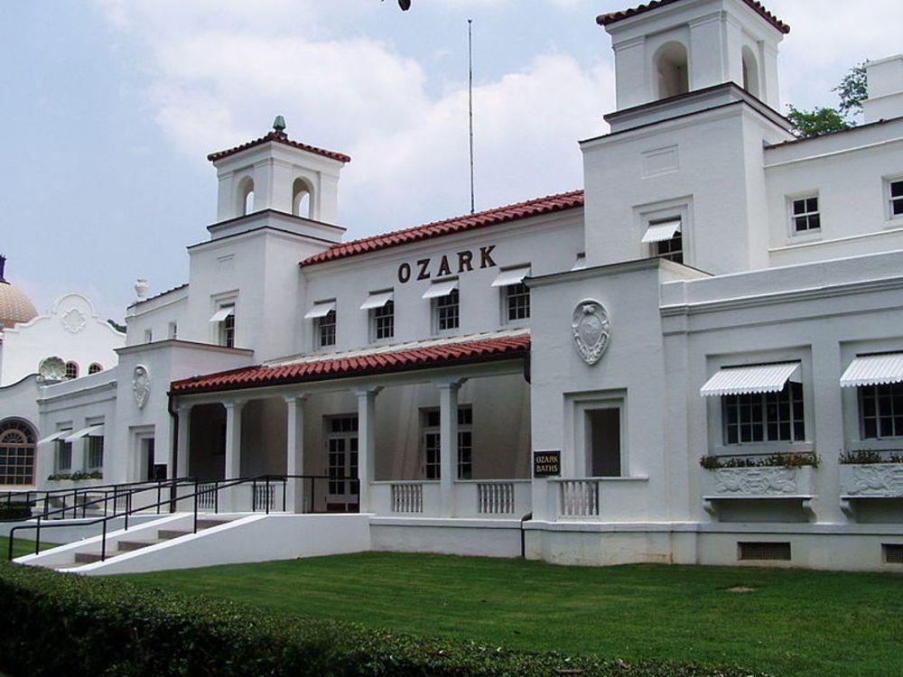 Nhà tắm Ozark Bathhouse.