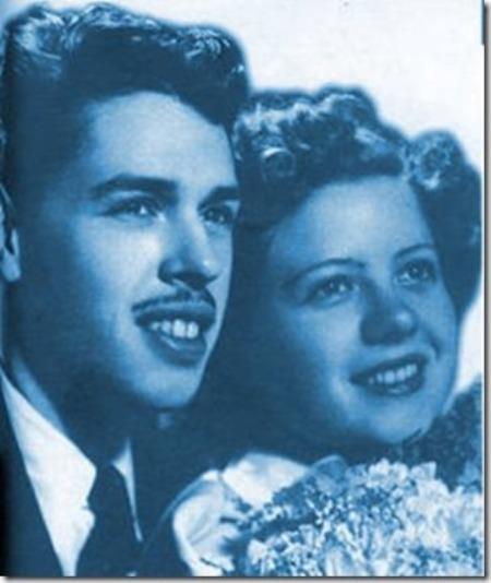 Jacques Brel và Thérèse Michielsen.