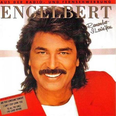 Ca sĩ Engelbert Humperdinck.