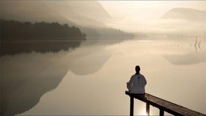 meditator.lake