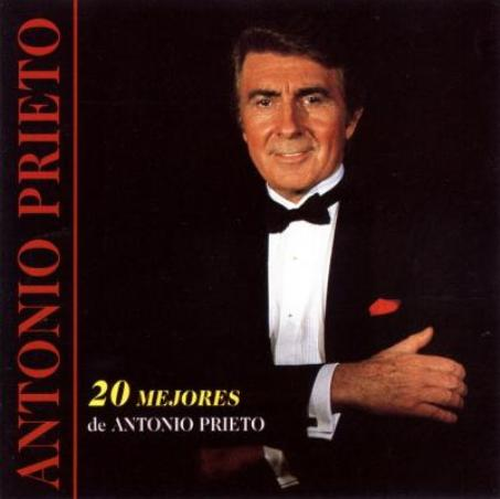 Ca sĩ Antonio Prieto.