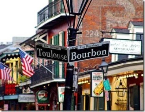 French Quarter (Quartier Francais), New Orleans.