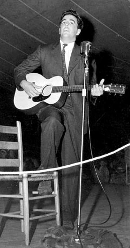 Nhạc sĩ Alan Lomax thập niên 1930s.