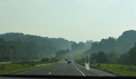 Bắt đầu cuộc hành trình trên xa lộ cao tốc I-81