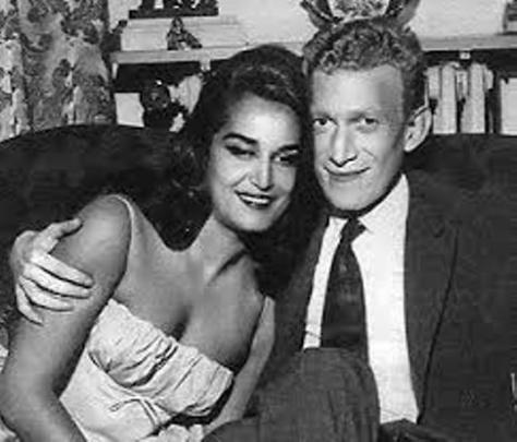 Vợ chồng Dalida và Lucien Morisse.
