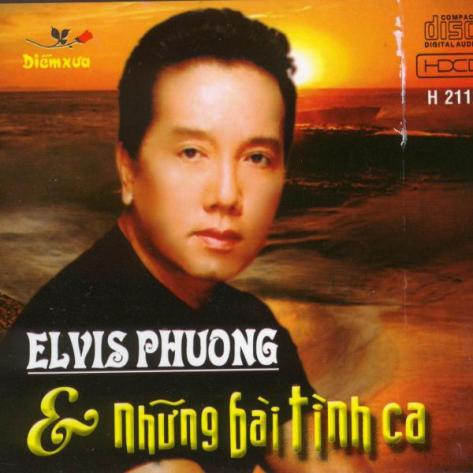 Ca sĩ Elvis Phương.