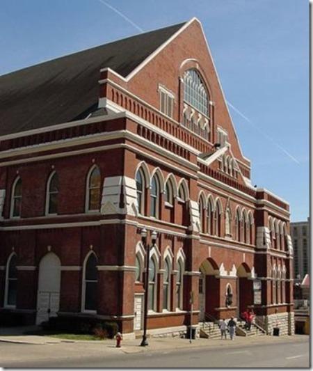 Hý Viện Ryman ở Nashville, tiểu bang Tennessee.