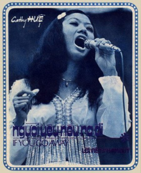 Ca sĩ Cathy Huệ.