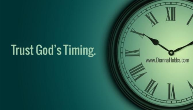 trust God timing