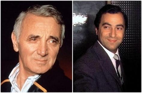 Charles Aznavour và Georges Diran Garvarentz.