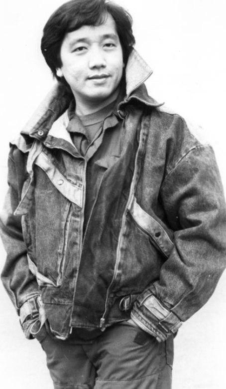 Ca sĩ Elvis Phương thời trẻ.