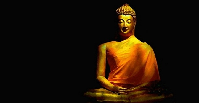 Phật đang thành