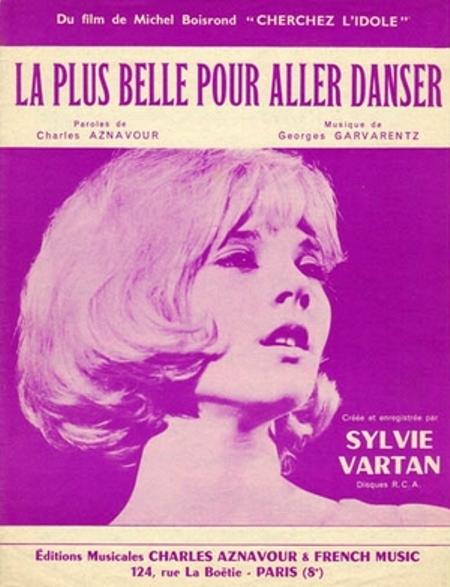 Ca sĩ Sylvie Vartan.
