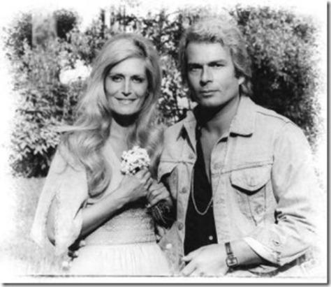 Dalida và Richard Chanfray.