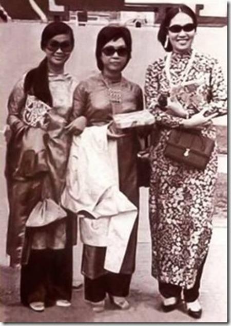 Khánh Ly, Lệ Thu và Thái Thanh.