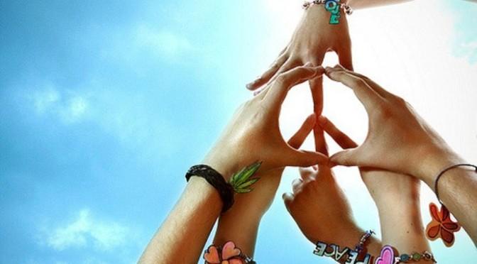 Trái tim hòa bình và dân chủ