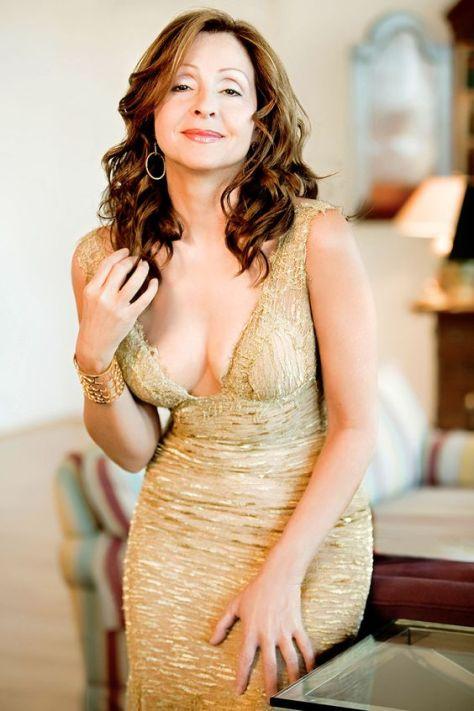 Ca sĩ Vicky Leandros.
