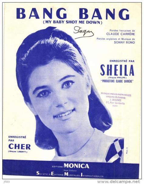 Ca sĩ Sheila.