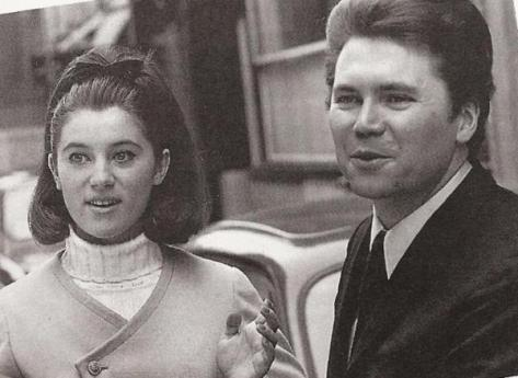 Sheila và Claude Carrere (thập niên 1960).