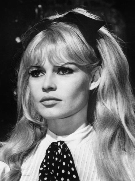 Nữ tài tử điện ảnh Brigitte Bardot.