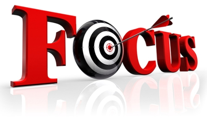 focus red word and conceptual target