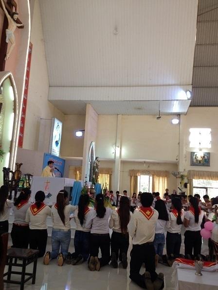 1/ Ngày 25/ 09/ 2016 Thánh lễ Giáo Lý Viên tuyên hứa.