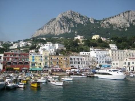 Capri Coastline.