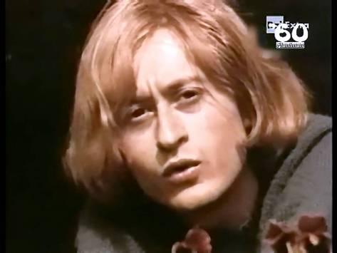 Michel Polnareff thời trẻ.