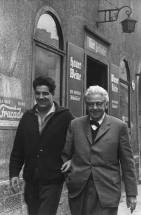 Thomas Hörbiger và thân phụ Paul Hörbiger.