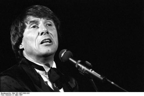 Udo Jürgens, 1987.