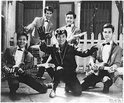 Paolo Tuấn và The Black Caps - thập niên 1960s.