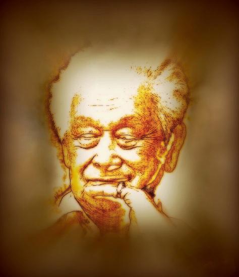 Nhạc sĩ Phạm Duy (1921-2013).