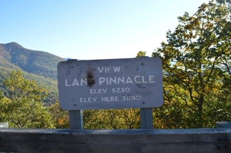 Điểm dừng Lane Pinacle, độ cao 1185.67m.