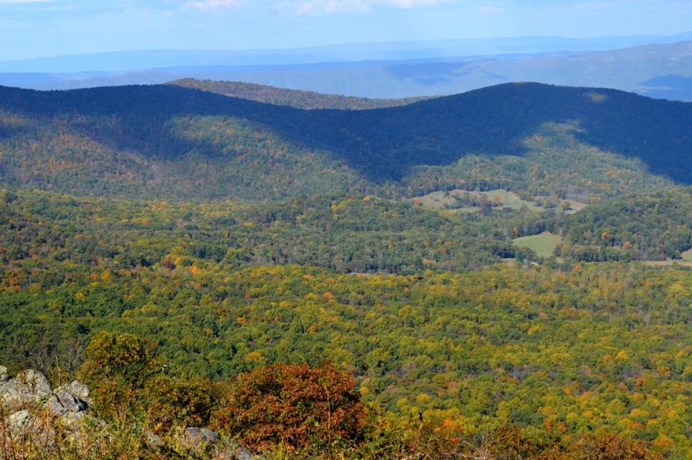 Appalachian không phải là một rặng núi đơn lẻ. Chiều ngang của Appalachian là nhiều rặng núi song song, rộng từ 94 km đến 480 km. Mỗi đỉnh núi thường có một tên địa phương, và mỗi rặng núi ngắn (gồm nhiều đỉnh núi) cũng có một tên địa phương. Applachian có hàng trăm rặng núi ngắn và hàng nghìn đỉnh núi như thế, nên có rất nhiều tên địa phương, chẳng biết đâu mà kể.