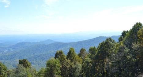 Roanoke Mountains - nhìn bên phải.