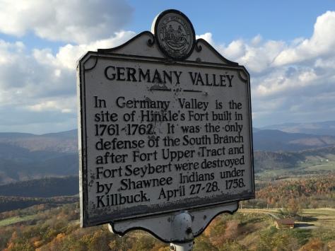 Đến điểm dừng Germany Valley rồi.