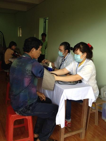 3. Bệnh nhân được đo Huyết áp trước khi đến khám chuyên khoa